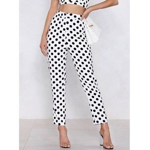 """Nasty Gal's """"What's Dot Into You"""" Dotted Pants"""